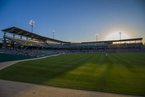 Photograph - Indianapolis Indians Victory Field 4593 by David Haskett II