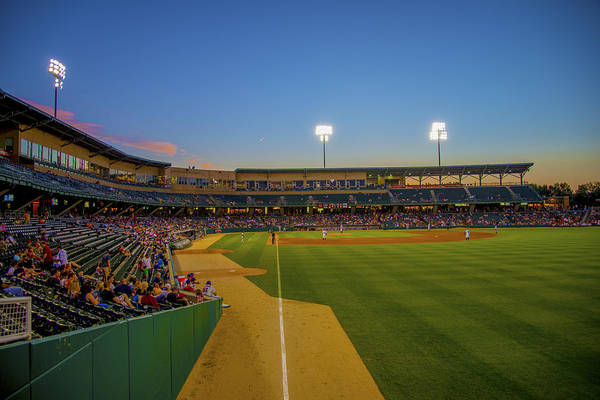 Photograph - Indianapolis Indians Victory Field 4676 by David Haskett II