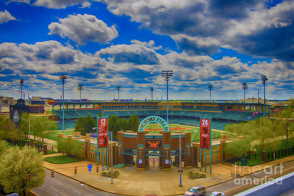 Photograph - Indianapolis Indians Victory Field by David Haskett II