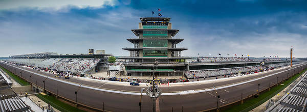 Wall Art - Photograph - Indianapolis Motor Speedway by Ron Pate