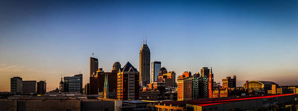 Photograph - Indianapolis Skyline - South by Ron Pate