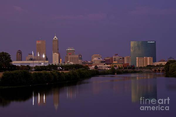 Photograph - Indianapolis Skyline Zero by David Haskett II
