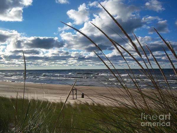 Photograph - Indiana Dunes' Lake Michigan by Pamela Clements