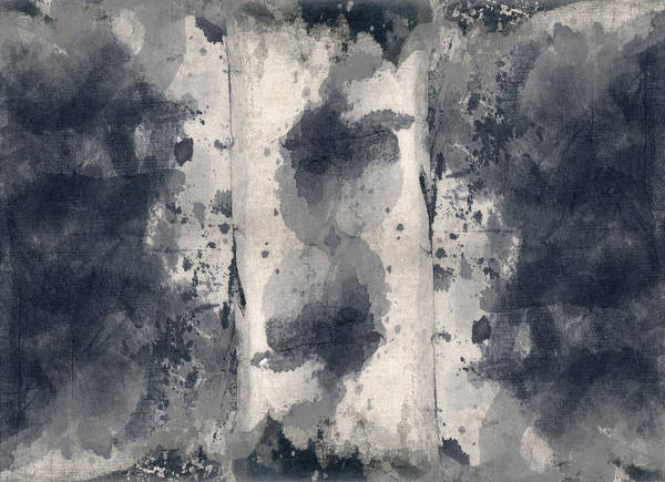Indigo Clouds 3 Art Print