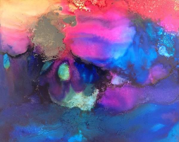 Painting - Indigo Spirits by Tara Moorman