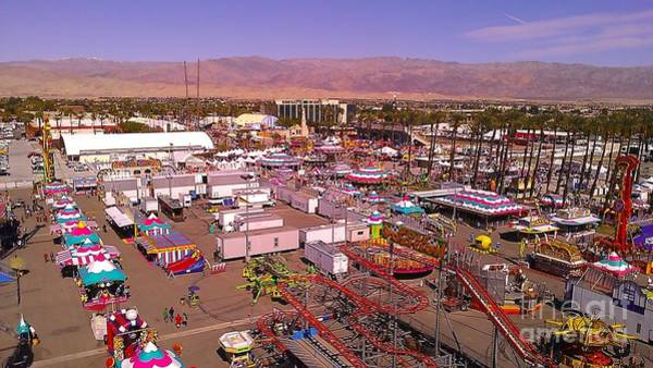 Indio Photograph - Indio Fair Grounds by Chris Tarpening