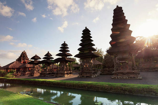Indonesian Culture Photograph - Indonesia, Bali, Taman Ayun Temple by Michele Falzone