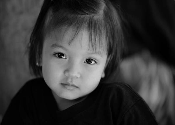 Wall Art - Photograph - Indonesian Girl by Jessica Rose