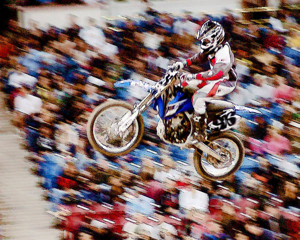 Photograph - Indoor Motocross Usa by William Havle