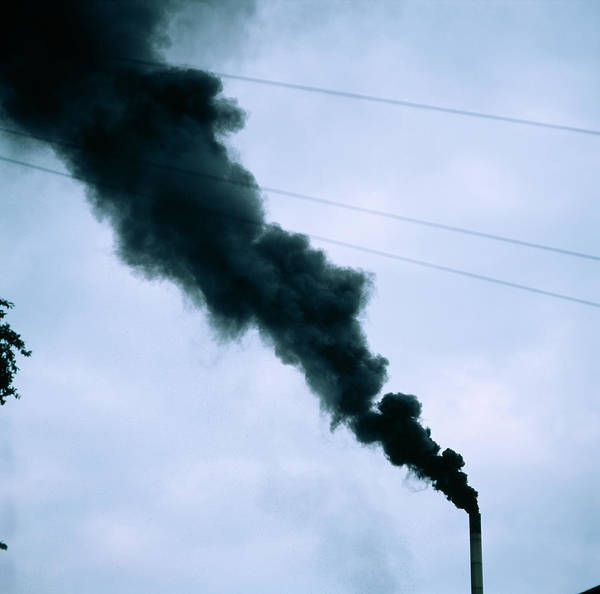 Wall Art - Photograph - Industrial Air Pollution by Robert Brook/science Photo Library