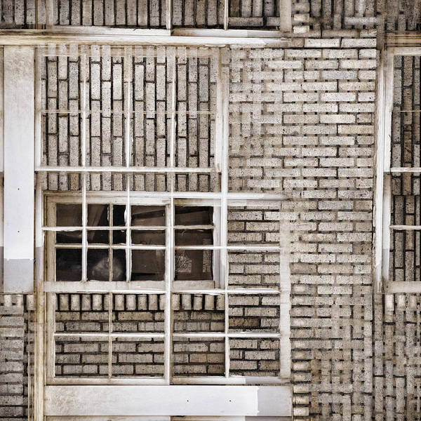 Detail Wall Art - Photograph - Industrial District Abstract Number 1 by Carol Leigh