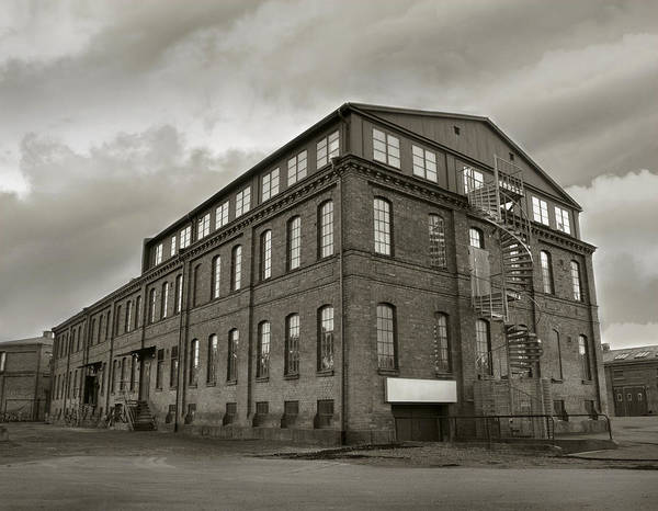 Photograph - Industrial Factory Depression by Dreamland Media