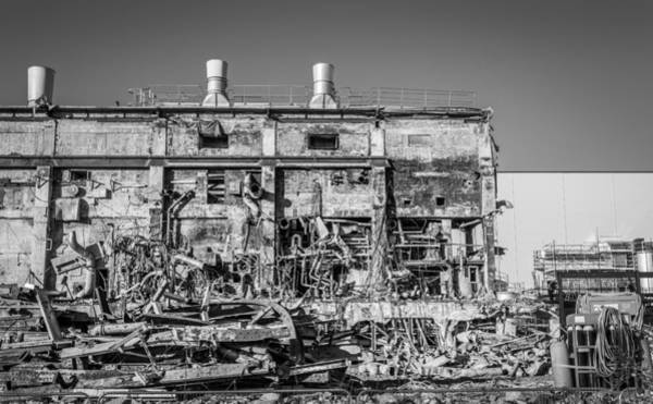 Photograph - Industrial Ruins by Gary Gillette