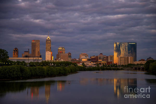 Photograph - Indy Sunset 20 by David Haskett II