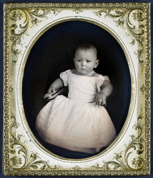 Photograph - Infant, C1855 by Granger