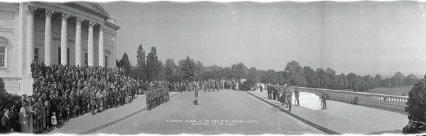 Sentinel Photograph - Infantry Reunion Tomb Of The Unknowns by Fred Schutz Collection