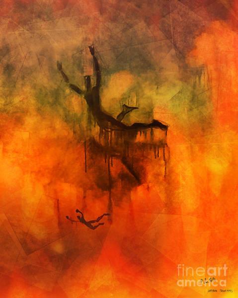 Wall Art - Digital Art - Inferno by Pedro L Gili