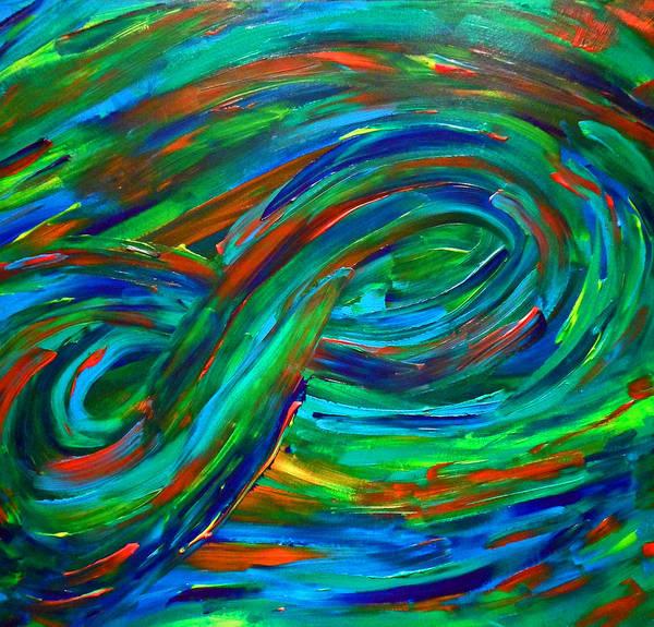 Painting - Infinity by Cyryn Fyrcyd