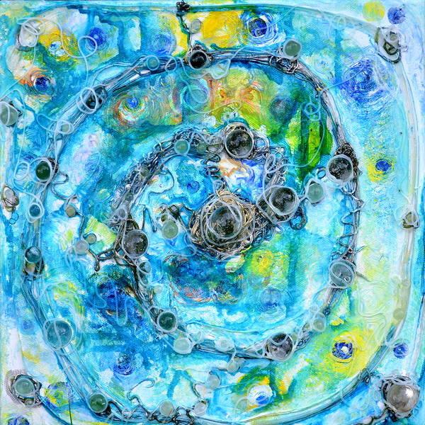 Painting - Influence by Regina Valluzzi