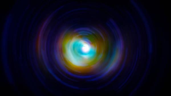 Wall Art - Photograph - Infrared Iris Spin Art by Jennifer Rondinelli Reilly - Fine Art Photography
