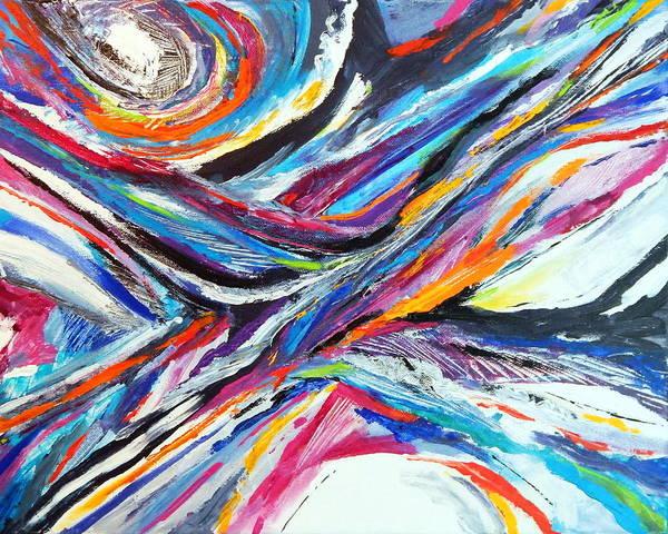 Dominate Painting - Sensational by Expressionistart studio Priscilla Batzell