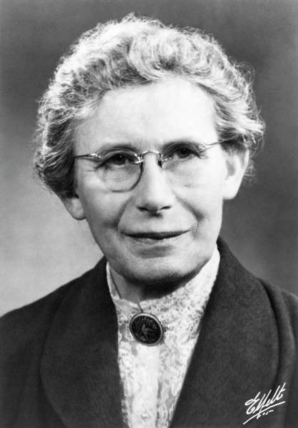 Geologist Wall Art - Photograph - Inge Lehmann by Emilio Segre Visual Archives/american Institute Of Physics