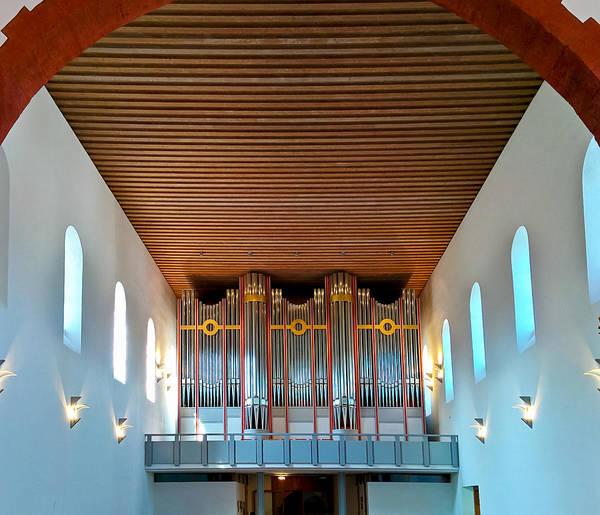 Photograph - Ingelheim Organ by Jenny Setchell