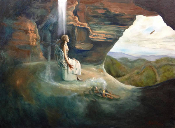 Initiation Painting - Initiation by Joyce Huntington