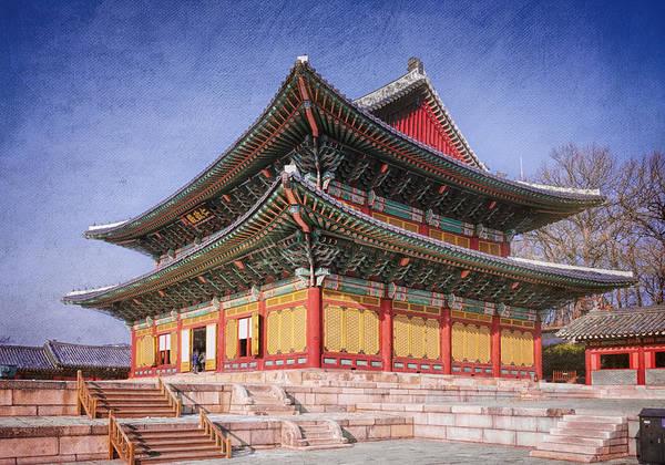 Photograph - Injeongjeon Hall Seoul by Joan Carroll