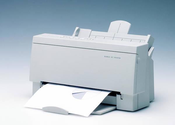Printer Photograph - Inkjet Printer by Ton Kinsbergen/science Photo Library