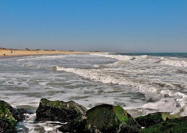Photograph - A Summer Day At The Inlet - Delaware by Kim Bemis