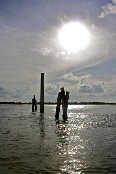 Matanzas Inlet Wall Art - Photograph - Inlet View by Valerie Tull