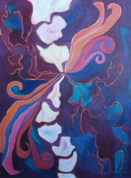 Leclair Painting - Inner Agony by Suzanne  Marie Leclair