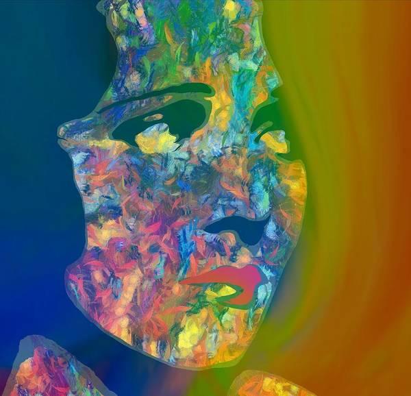 Contrast Mixed Media - Inner Beauty Pop Art by Dan Sproul
