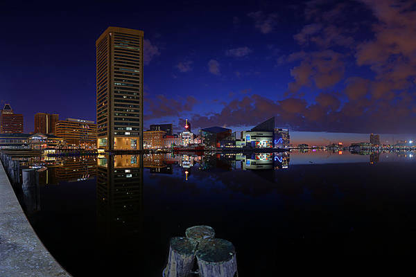 Photograph - Inner Harbor At Baltimore by Metro DC Photography