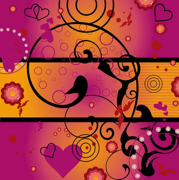Wall Art - Digital Art - Inner Heart by Mellisa Ward