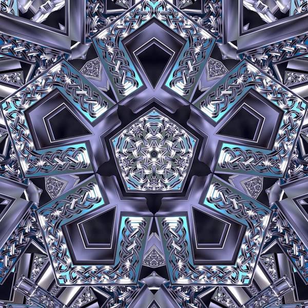 Digital Art - Inner Helix by Derek Gedney