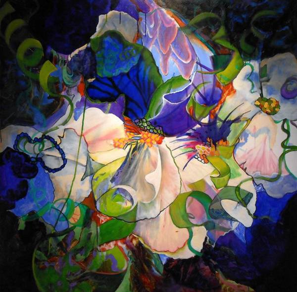 Protein Painting - Inner Light by Georg Douglas