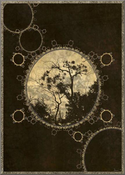 Crochet Digital Art - Inner Workings by Brandi Elaine Crochet