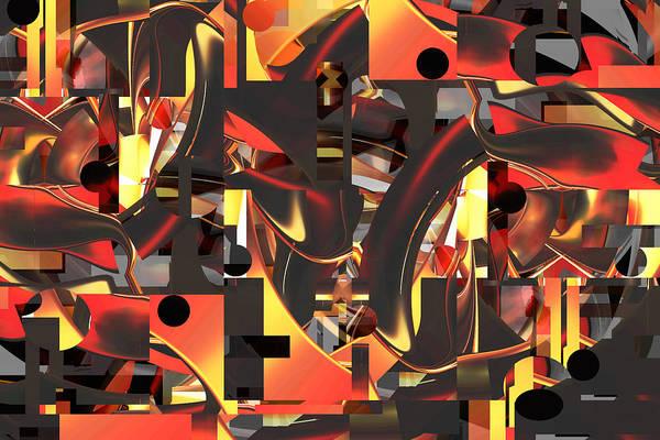 Digital Art - Inner Workings by rd Erickson