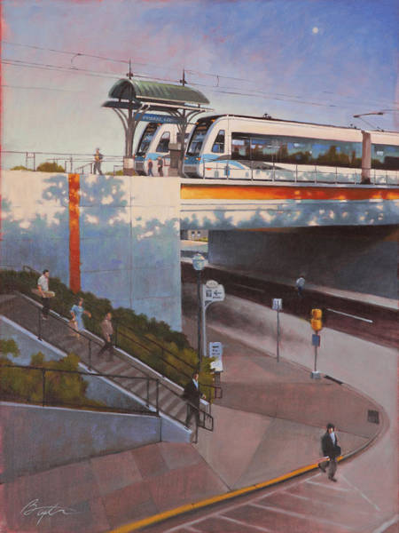 Rail Painting - Innovation On Track by Todd Baxter