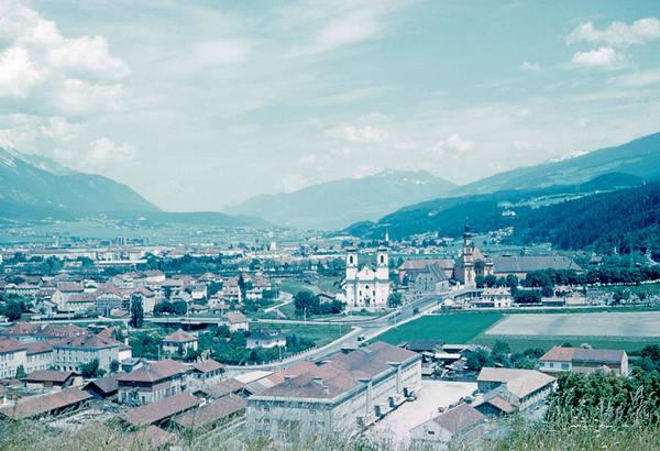 Innsbruck Austria 4 1962 Art Print by Cumberland Warden