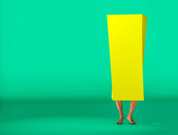 Photograph - Inside A Yellow Box by Bob Orsillo