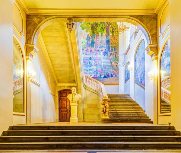 Exuberance Photograph - Inside Capitole De Toulouse by Semmick Photo
