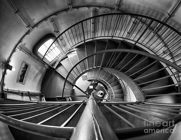 Inside Edgartown Lighthouse 3 Art Print