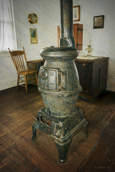 Screw Pile Wall Art - Photograph - Inside Hooper Strait Lighthouse by Brian Wallace