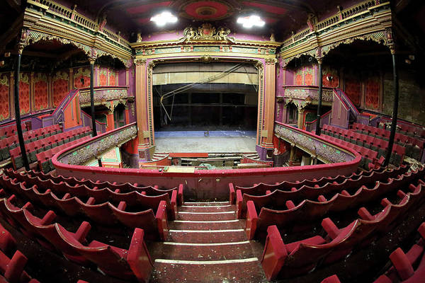 Manchester Photograph - Inside Hulme Hippodrome An Old Music by Christopher Furlong