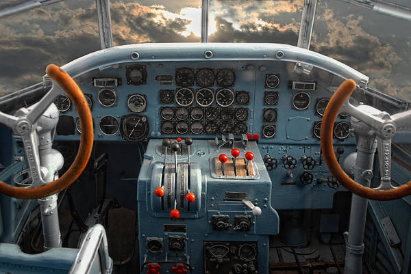 Ju 52 Wall Art - Photograph - inside JU 52 by Joachim G Pinkawa