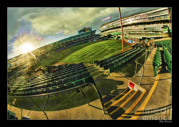 Photograph - Inside Oakland Coliseum by Blake Richards