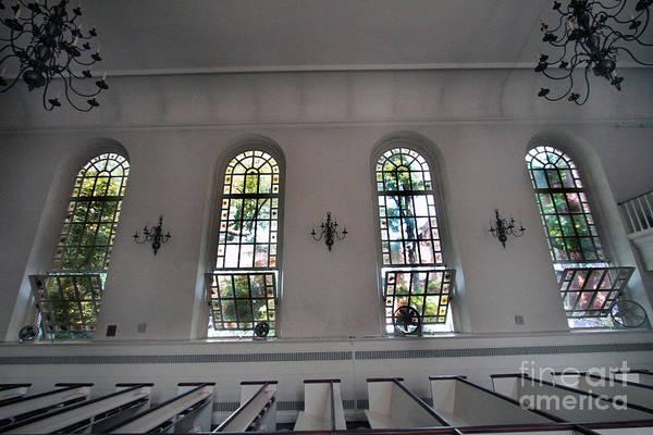Photograph - Inside Of St Luke In The Fields Church by Steven Spak